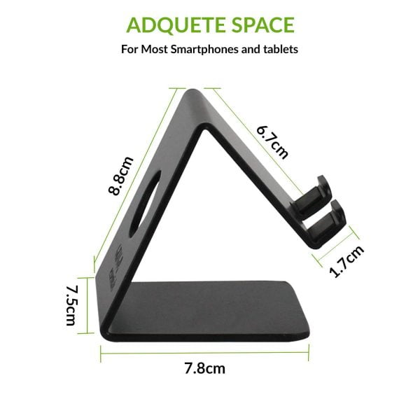 Gizga Essentials G32 Anodized Aluminium Mobile Phone Stand Holder