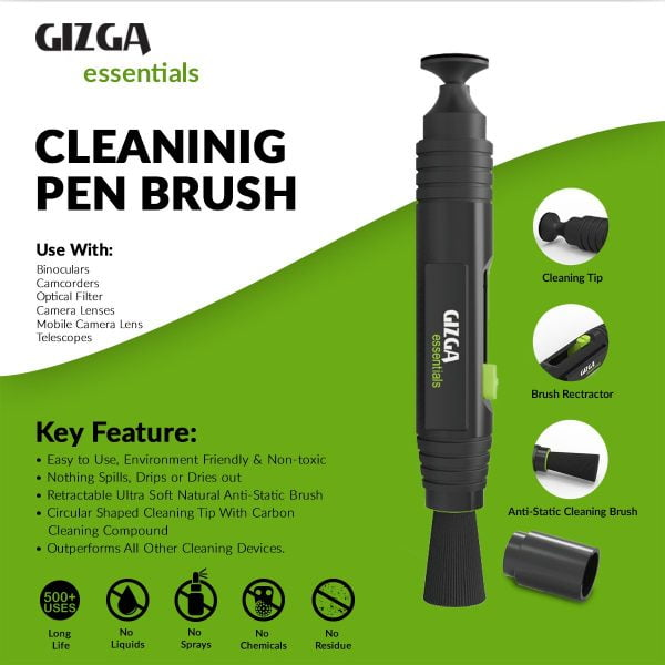 Gizga Essentials Professional Lens Pen Cleaning Pro System