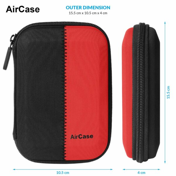 AirCase Hard Drive Case for 2.5-Inch Hard Drive
