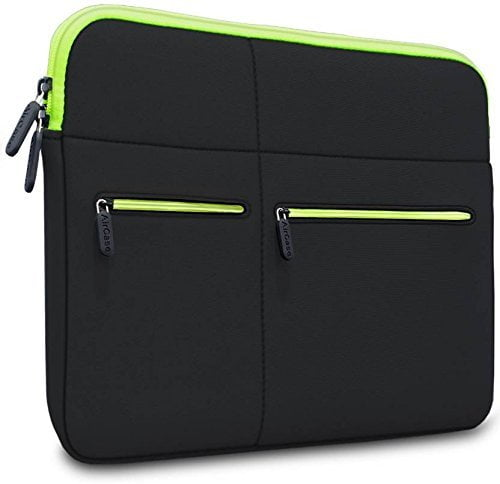 AirCase 15-Inch to 15.6-Inch Laptop Sleeve, Premium , Suave, 6-MultiUtility Pockets