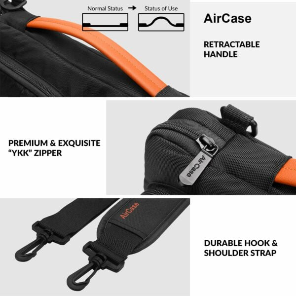 "AirCase C24 13.3""/14"" Messenger Laptop Bag"