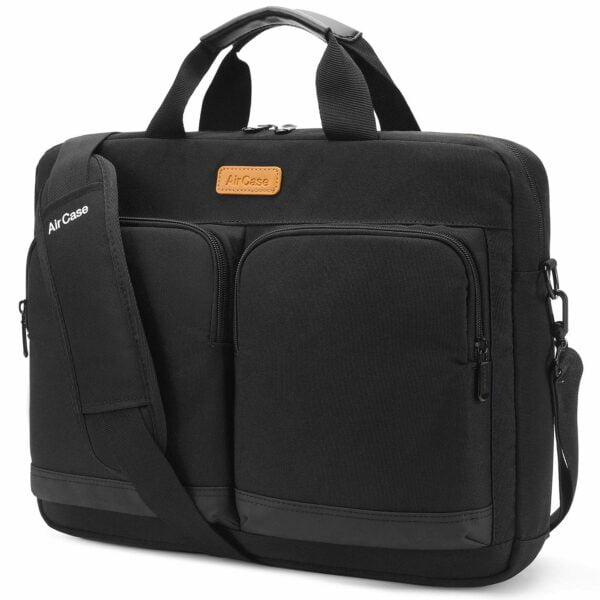 AirCase C30 Laptop Bag Messenger Bag Case for 13-Inch/ 14 Inch/ 15.6 Inch Laptop MacBook