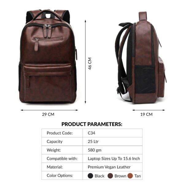 AirCase C34 25 Ltrs Laptop Backpack
